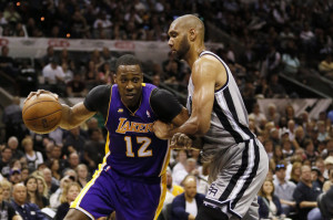 NBA: Playoffs-Los Angeles Lakers at San Antonio Spurs