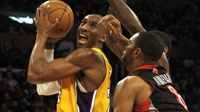 Kobe vs Raptors 1