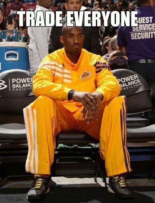 Trade Everyone Kobe