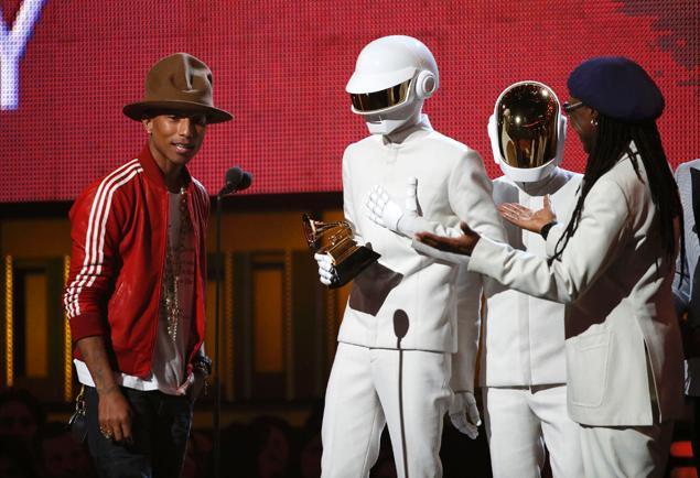 Daft Punk Grammy's