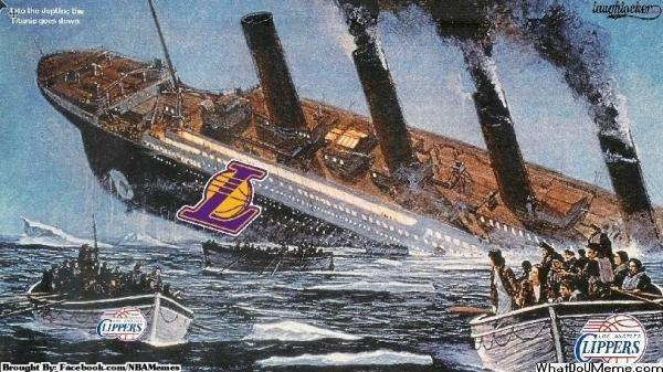 Lakers Titanic