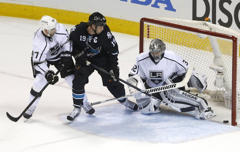 Los Angeles at San Jose, Game 1