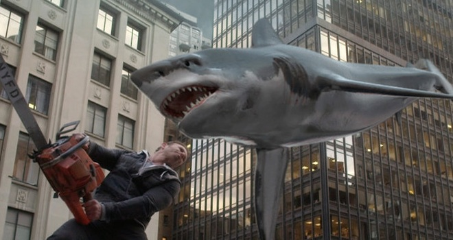 Sharknado 2 saw