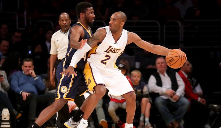 Kobe Posts Pacers