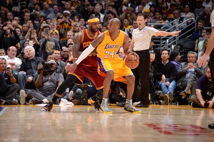 Last Kobe vs Lebron