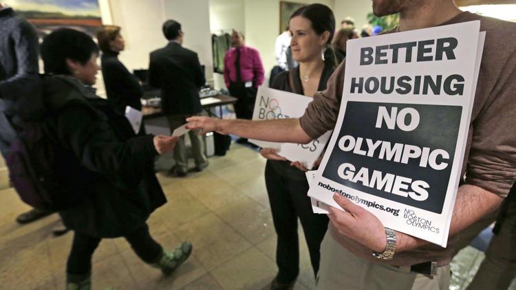 Boston No Olympics