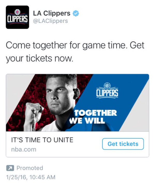 Clippers Blake Marketing