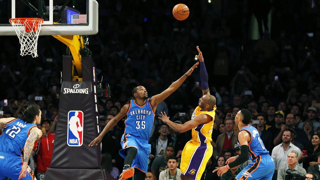 Kobe over KD