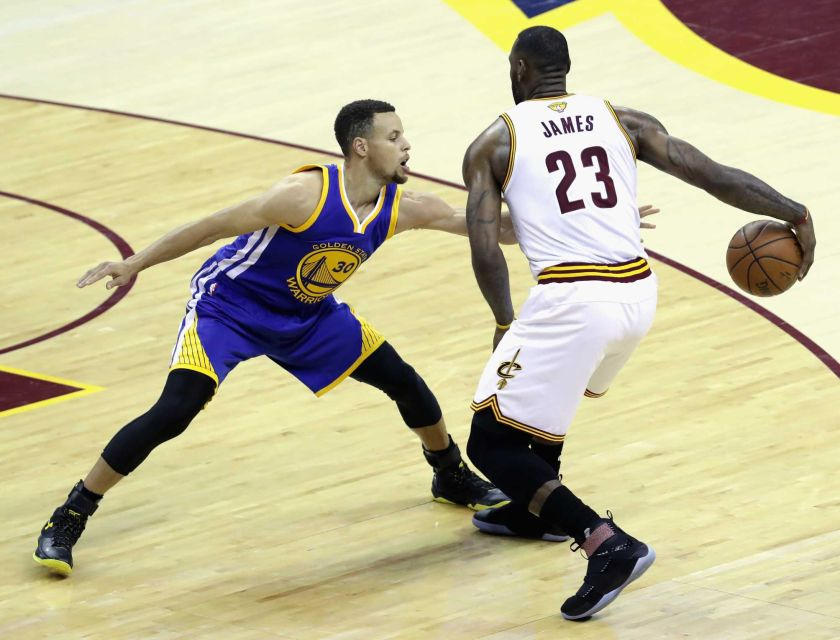 Steph vs Lebron