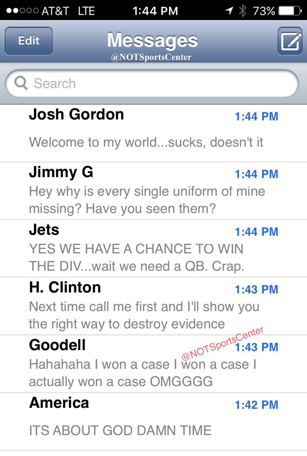 Brady's Phone